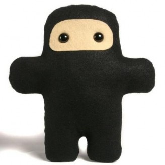 Wee Ninja plush by Shawnimals